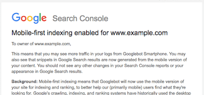 Rolling out mobile-first indexing