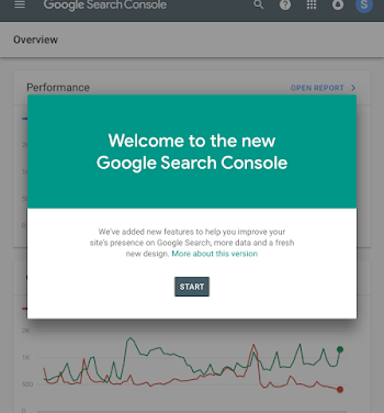 The new Search Console is graduating out of Beta ?