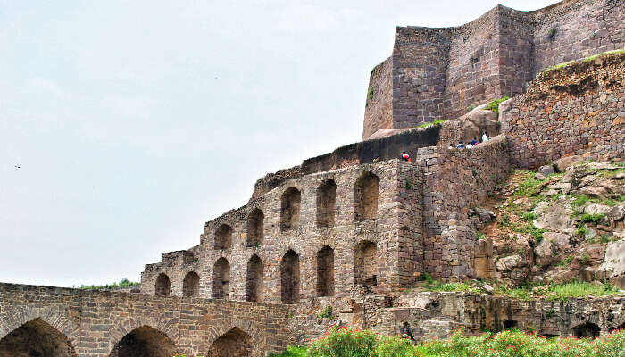 view of Golconda fort