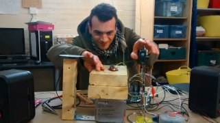Improv Autonomous Object - photo John Moosey