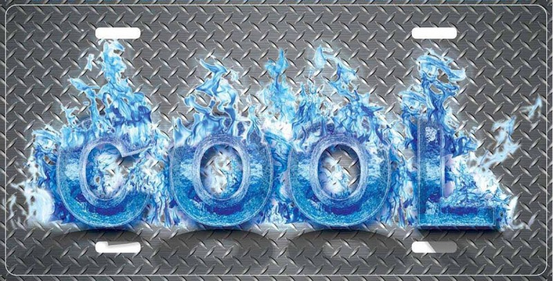 Cool Fire Typography