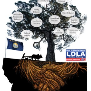 LOLA 4 Montana Campaign Poster: Deeply Rooted In Montana