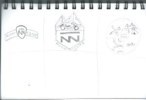 Double N Cycle Sketch 2