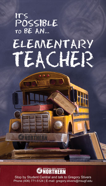 MSUN Elementary Education Bus Poster