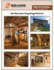Barn Restoration Using Salvaged Materials