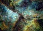 The Carina Nebula taken from Rushcutters Bay in Sydney Australia. SII – 3x5min + 15x10min Ha – 14x5min OIII – 14x5min + 3x10min Takahashi TSA-120 / SW EQ6 / SBIG STT-8300M / FW8G + AO-8T / StarTools / PS / LR