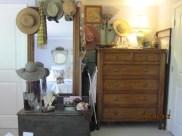 dresser in alcove...formerly a closet