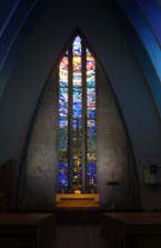 Kirche Am Hohenzollernplatz, Altarfenster