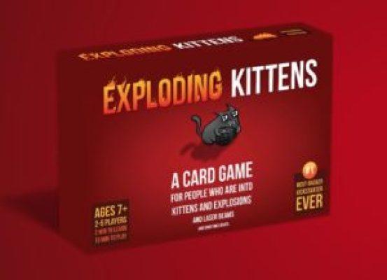 Exploding Kittens français jeu chat explosif