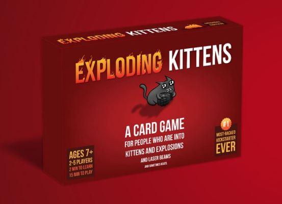 Exploding Kittens français