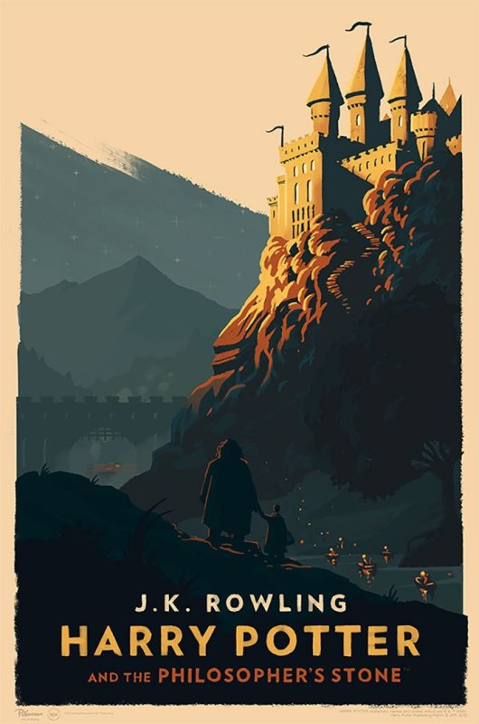 poster vintage harry potter