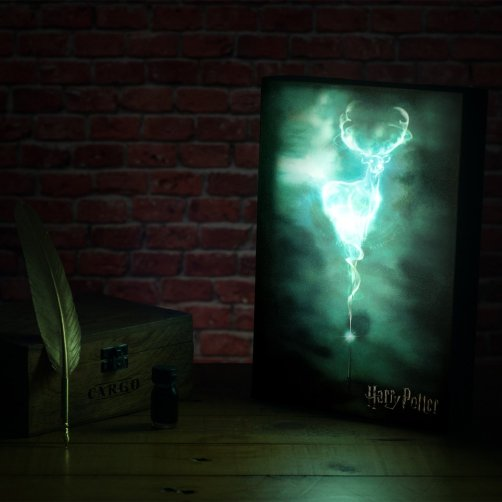 veilleuse poster 3D harry potter patronus