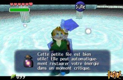 fee dans bocal link the legend of zelda