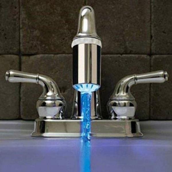 robinet a led lumineux sans pile qui change de couleur