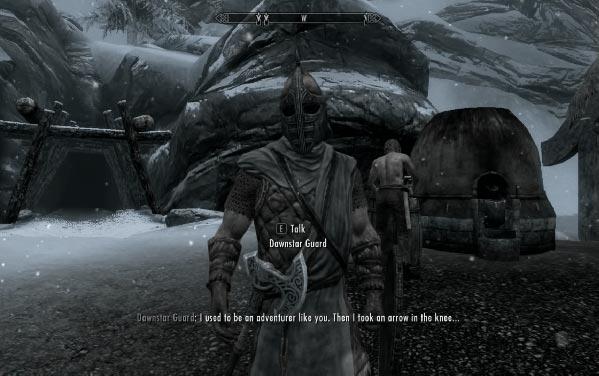skyrim meme elder scrolls gardes