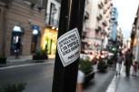 An outcry against the maffia ant their bribes - Palermo, Sicily