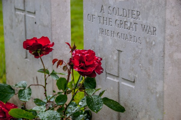 South African cemetary at Delville Wood (Devils Wood)