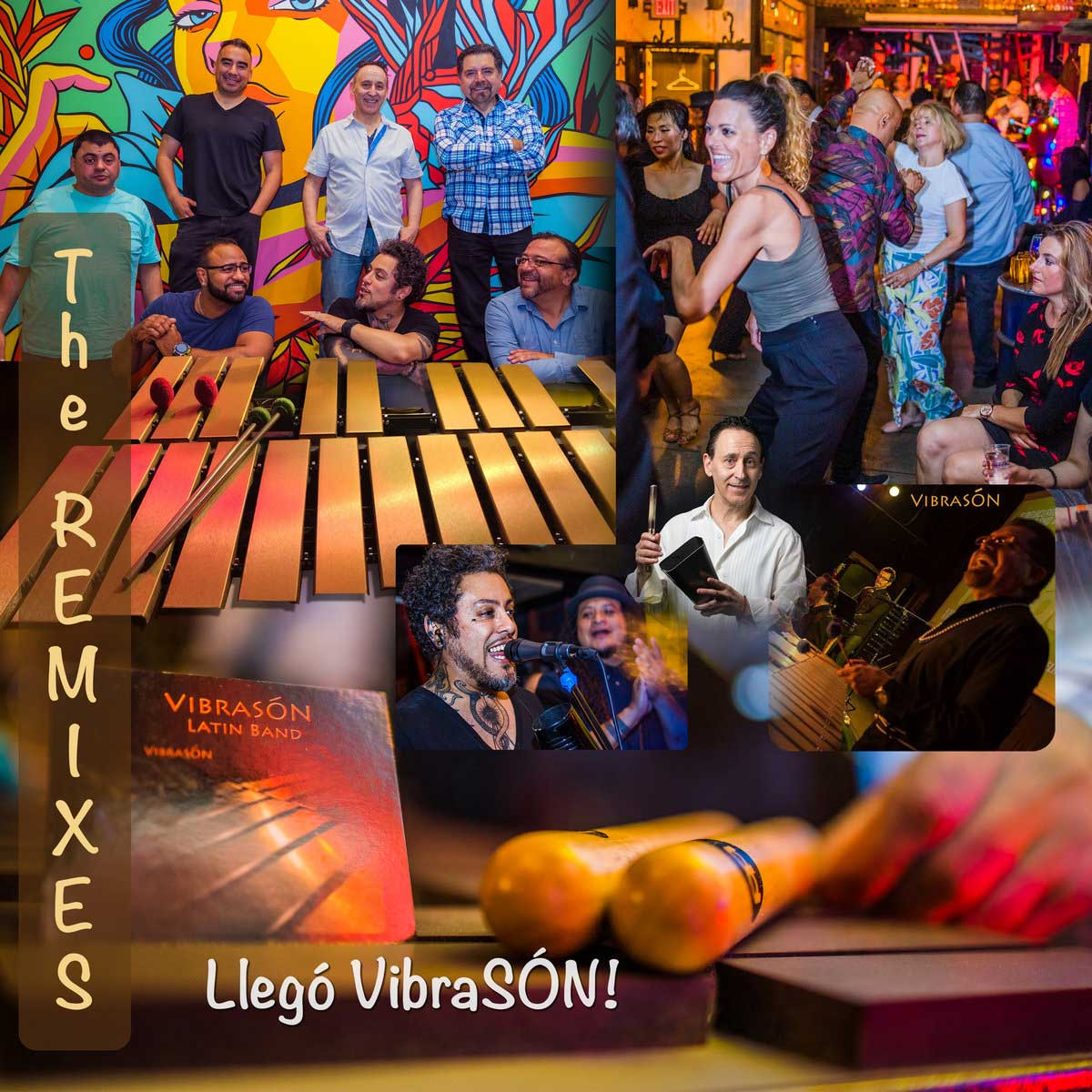 Vibrasón Latin Band - Llegó Vibrasón (The Remixes)