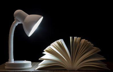 lectura por la noche