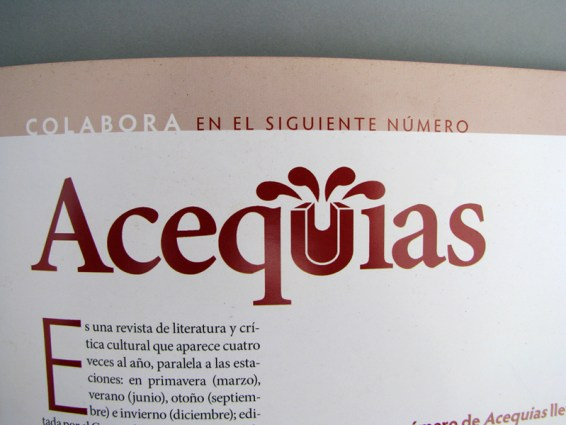 Acequias - Ibero Torreón