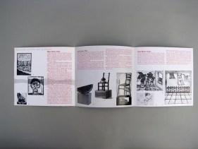 Diseño de un tríptico para la promoción de obra del grabador Alonso Licerio.
