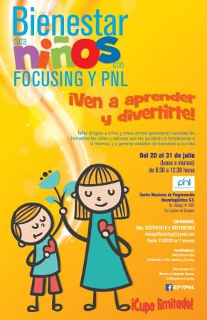Diseño cartel para el taller Bienestar con los Niños