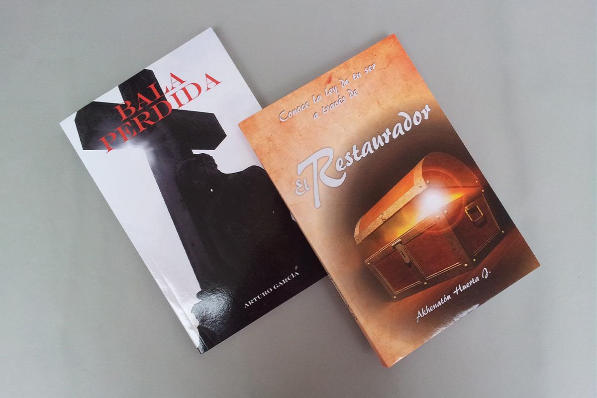 Diseno de portada para libros Hugraf