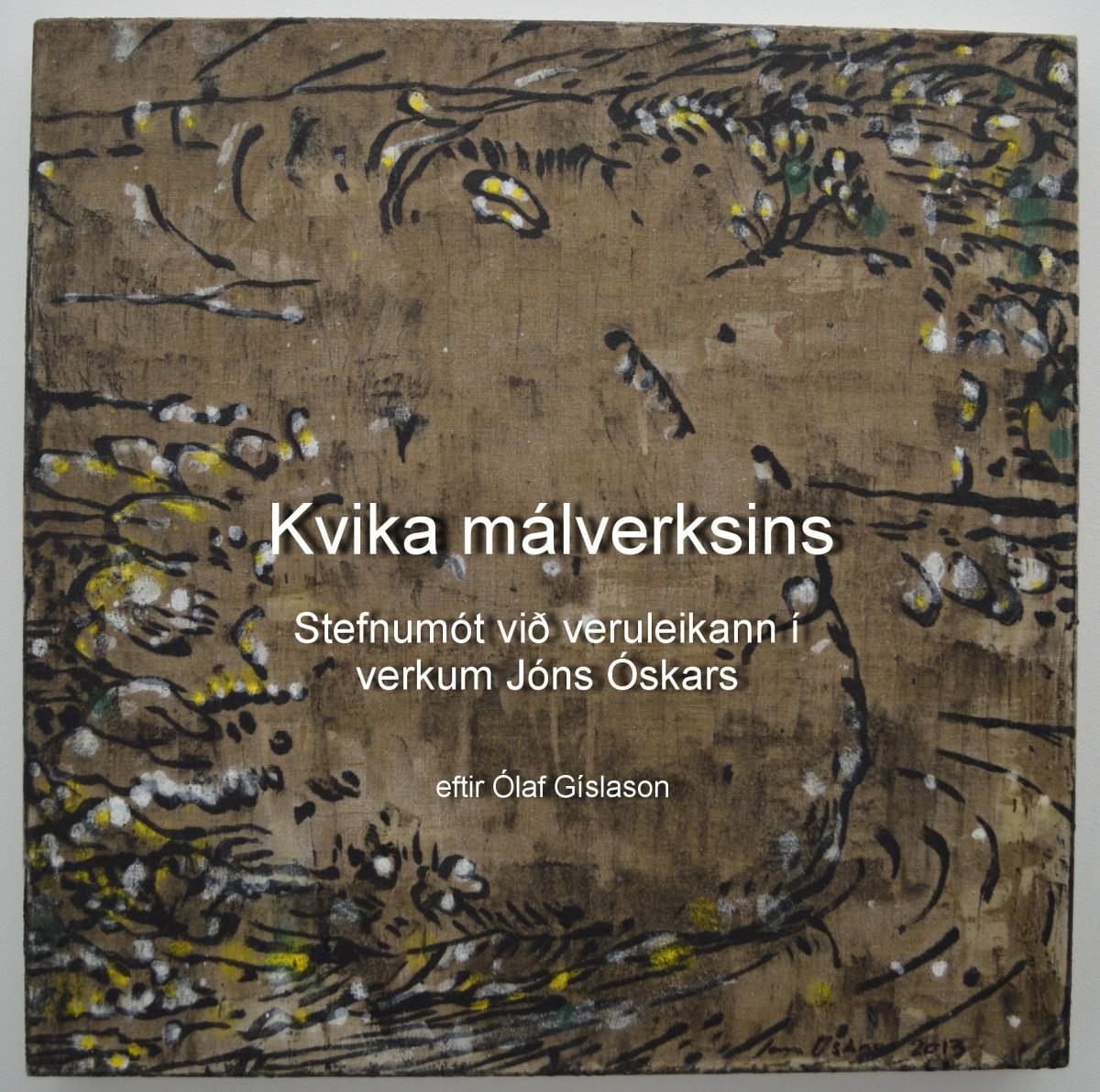 Jón Óskar og málaralistin