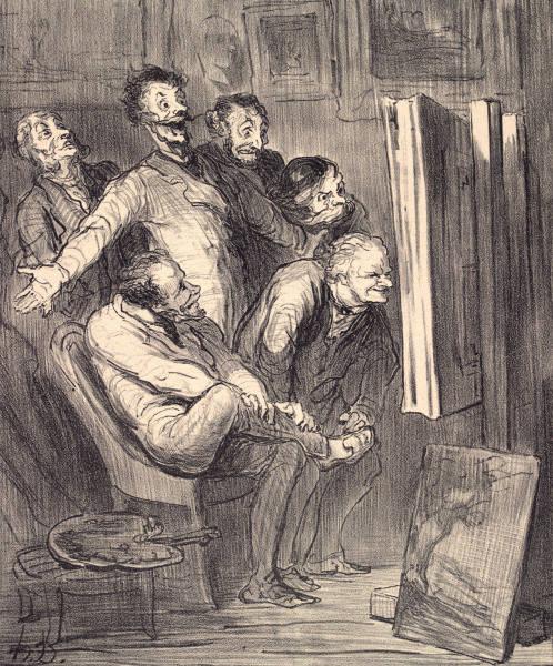 Honoré Daumier: Listgagnrýni