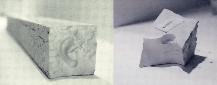 Magnús Pálsson Hvísl I og II 1975