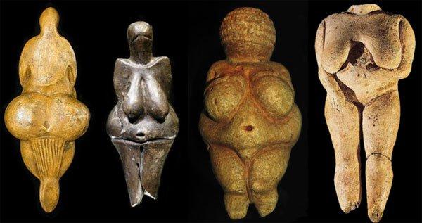 Steinaldargyðjur 40-10þús áras-europe-paleolithic