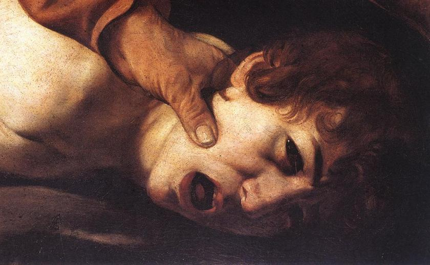 caravaggio Fórn Ísaksb 1601-2