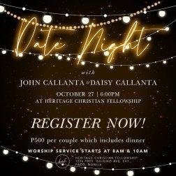 Date Night HCF Manila