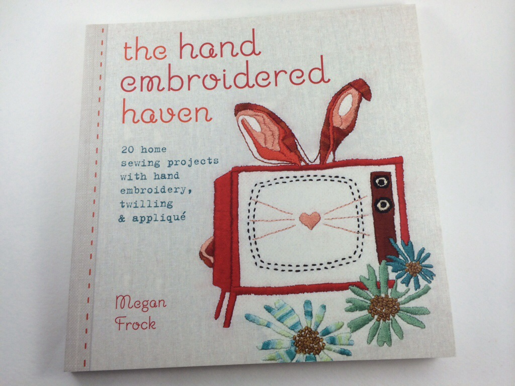 The Hand Embroidered Haven book review by Hugs are Fun