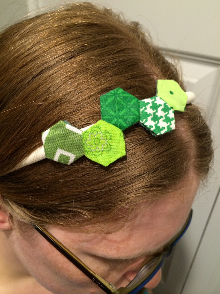 Hexagon Headband by Hugs are Fun