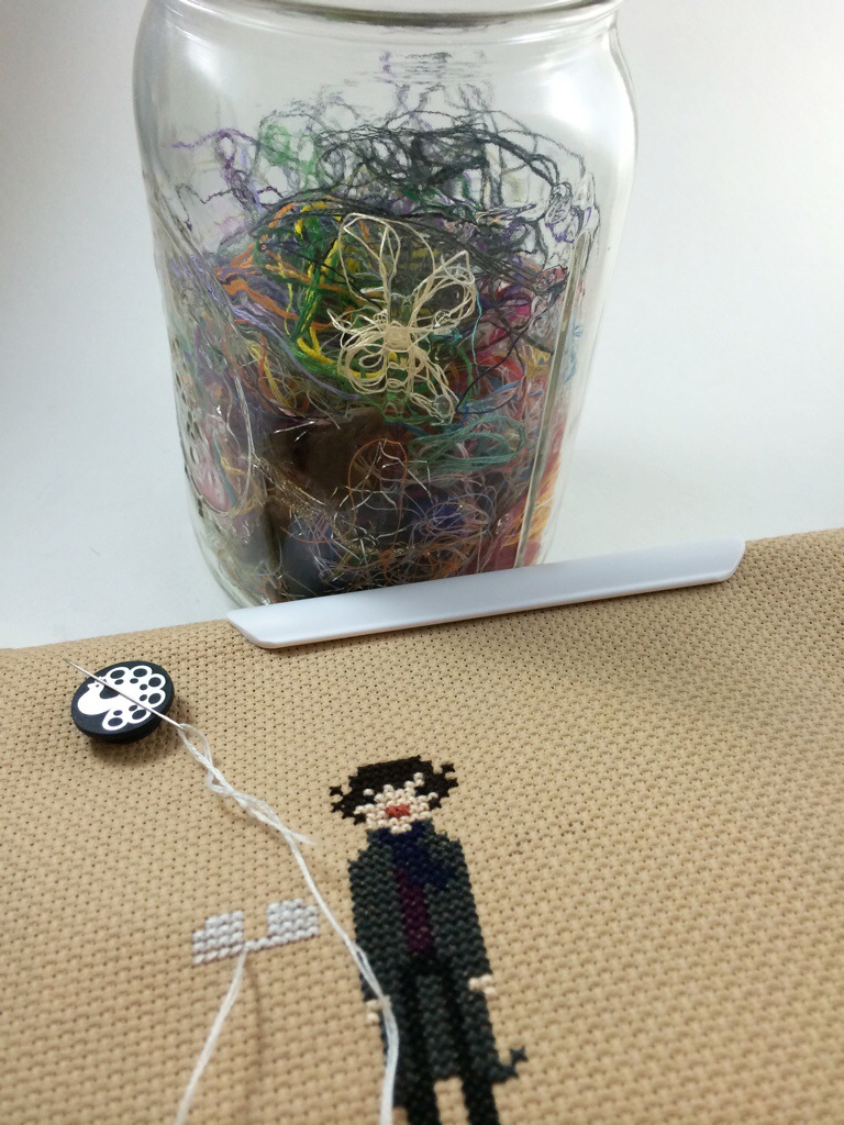 Some Sherlock Cross Stitching and an ORT Update by Hugs are Fun