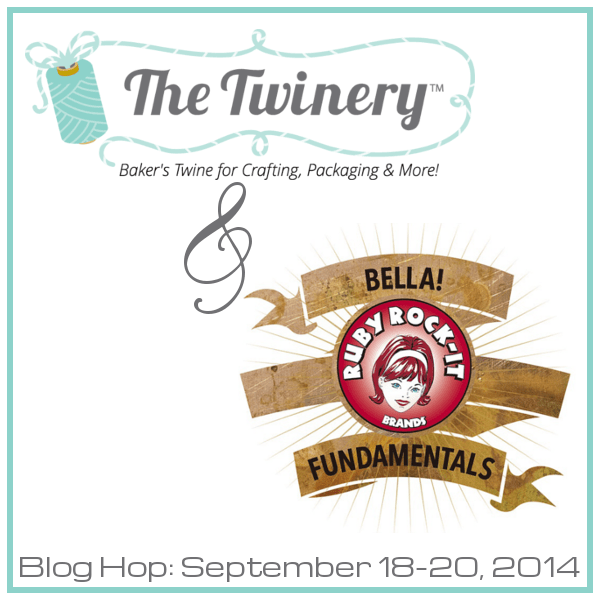 Twinery and Ruby Rock-It Blog Hop! by Hugs are Fun