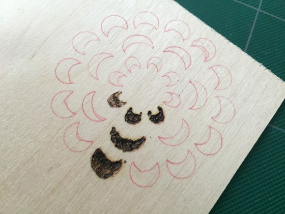 January TSNEM - Woodburning from Hugs are Fun