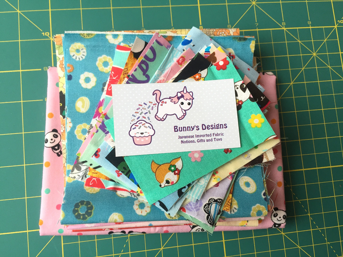 An Online Fabric Store - Bunny's Designs Fabric Supply from Hugs are Fun