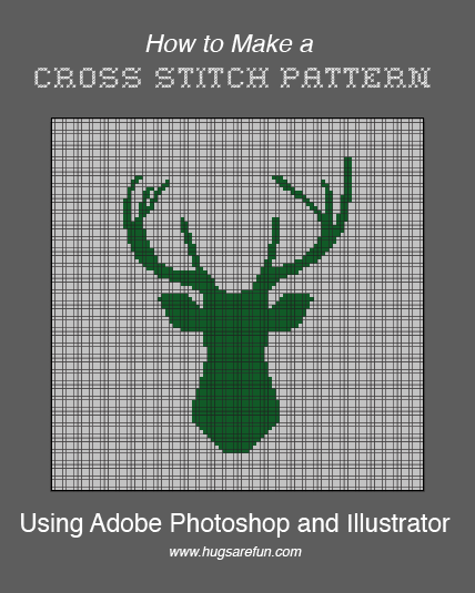 How to Make a Pattern in Photoshop from Hugs are Fun