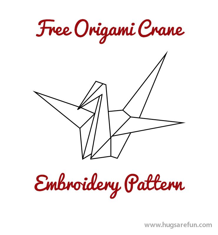 Free Pattern Friday Origami Crane