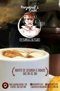 Huguenot's Café - Cafeteria no Centro Histórico de São Luís
