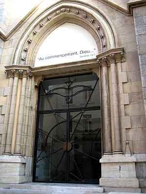 porte du temple après rénovation en 2007