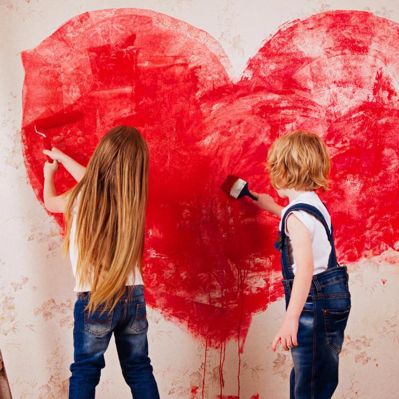Basteln am Kindergeburtstag mit huifabrik-Kreativbox