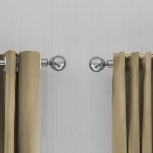 Lifa Living Gordijnen - Beige ringen