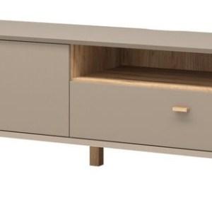 Tv-meubel Calvi 187 cm breed - Grijs