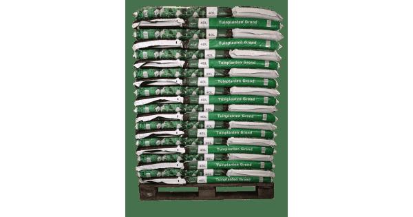 Pallet Tuinplanten grond 40 liter