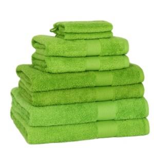Serie Badlinnen 'Pure Cotton' Lime