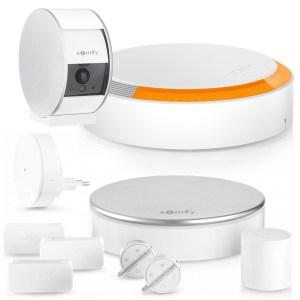 Somfy Home Alarm + Indoor Camera + Buitensirene