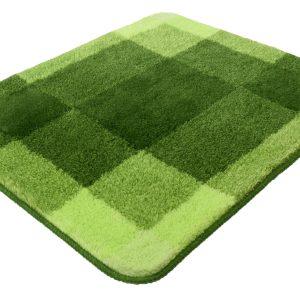 Kleine Wolke Mix badmat 55x65x2 cm, kiwigroen